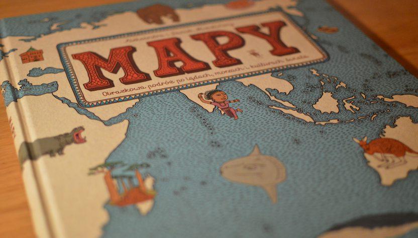 mapy ilustrowany atlas