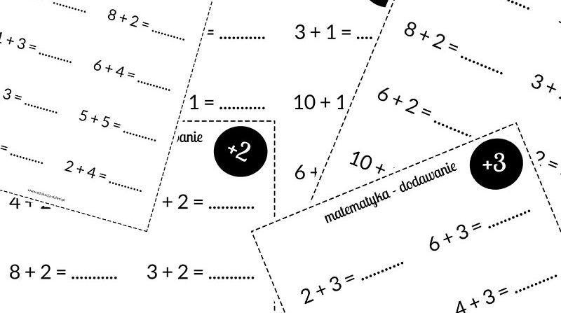 karty pracy matematyka