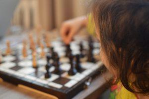 szachy dziecko