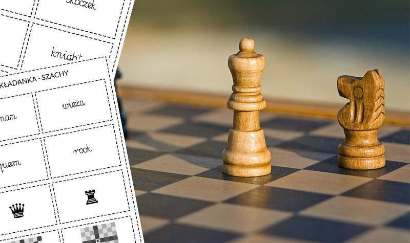 układanka szachy