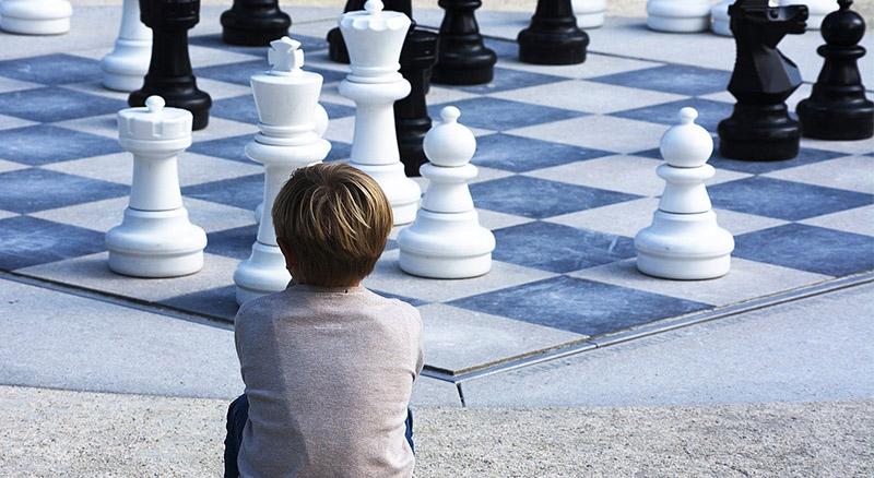 dziecko szachy