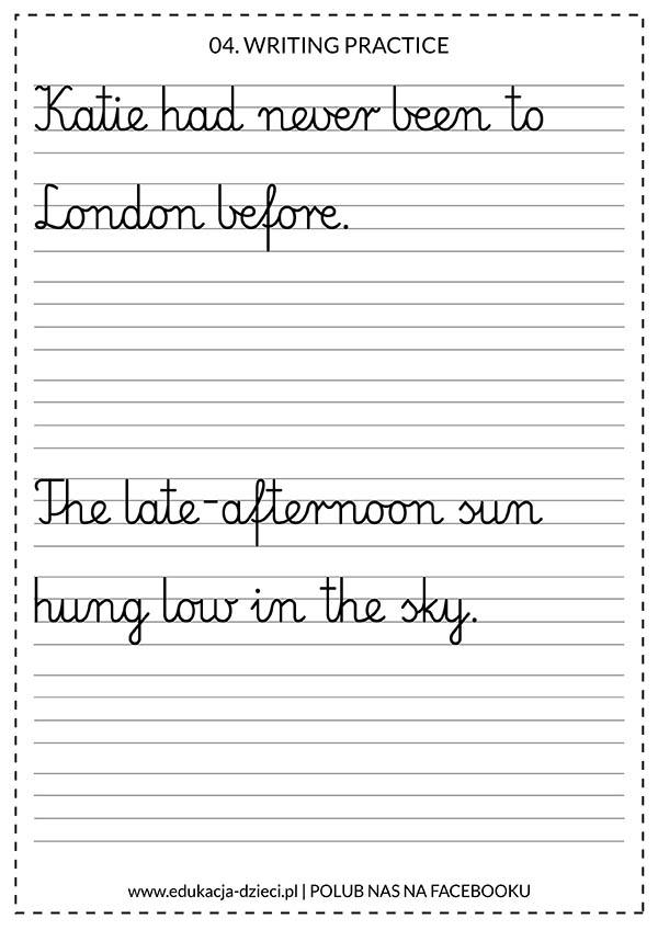 angielskie zdania