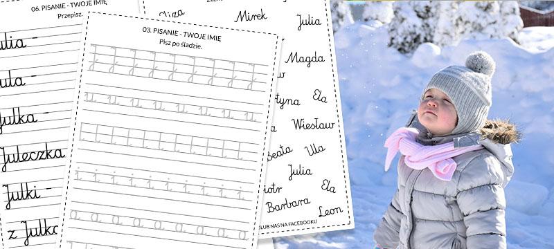 pisanie twoje imię