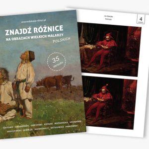 znajdź różnice na obrazach wielkic malarzy polskich