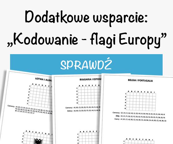 kodowanie flagi europy