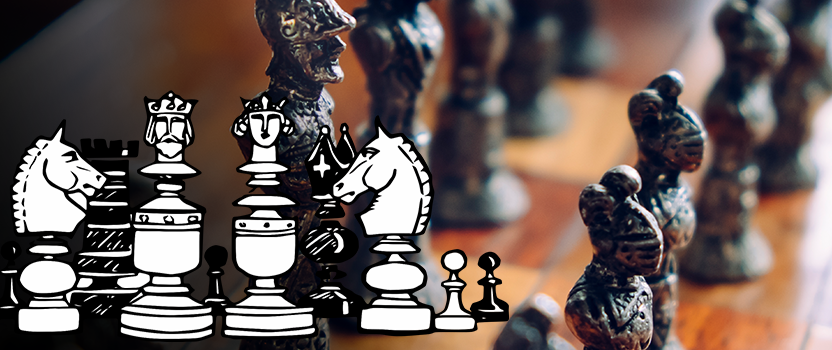 kolorowanki szachy